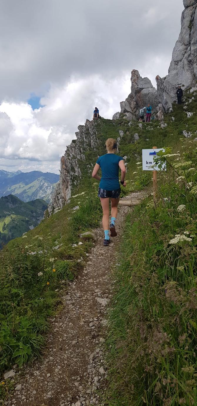 3. Rang am Stockhorn Halbmarathon