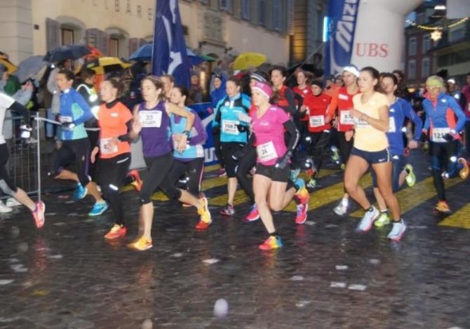 3. Rang Elite Frauen am Langenthaler Stadtlauf