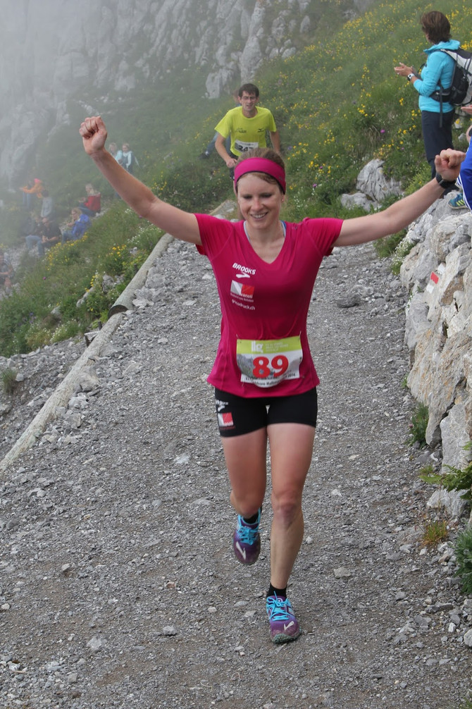 Sieg am Stockhorn Halbmarathon! :)