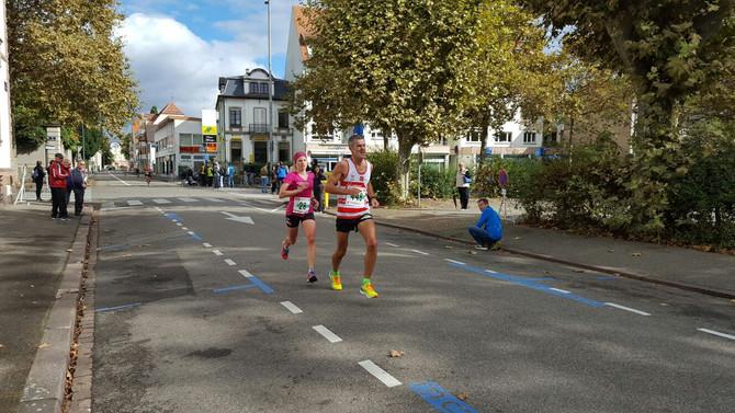 Neue Halbmarathon PB und Sieg im Elsass!