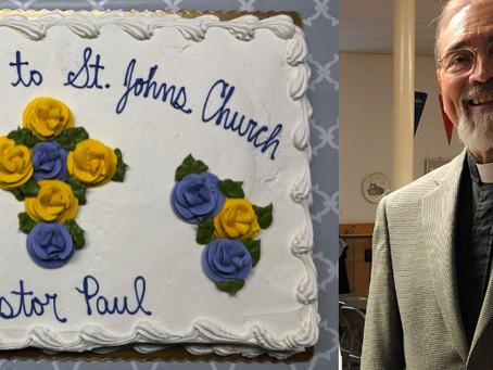 St. John's Welcomes Pr. Paul Braden