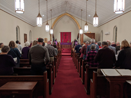 Lenten Worship with Community Churches