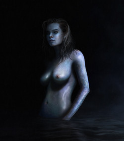 Guardian of the Lake - Digital Painting