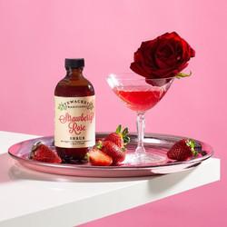Pyewackets Strawberry Rose Shrub