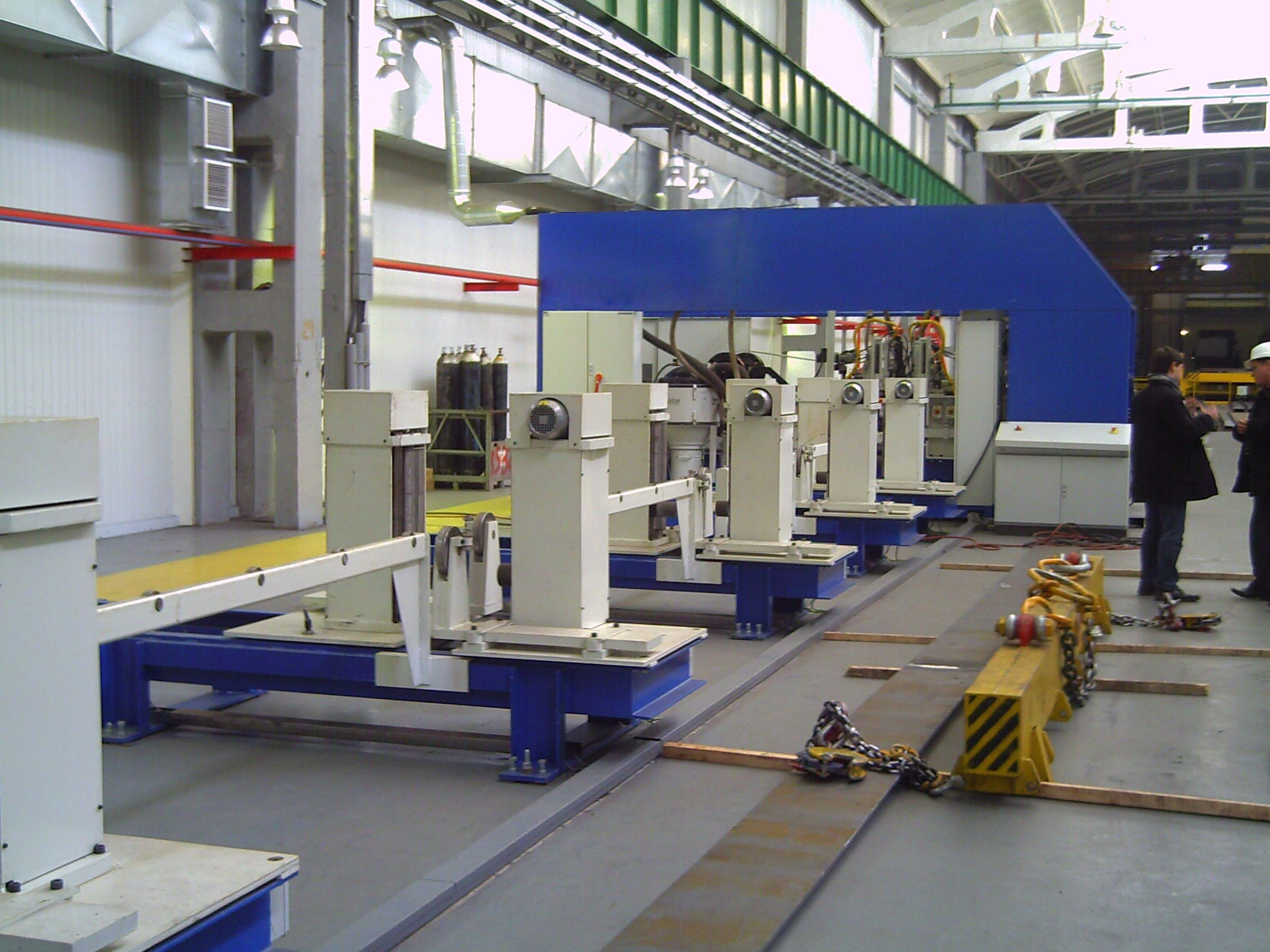 Automated Beam Welding Line. 2012