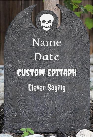 Custom Lightweight Concrete Gravestone/Tombstone Granite CSY