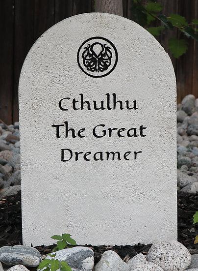 Cthulhu Lightweight Concrete Gravestone/Tombstone