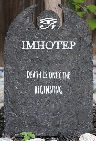 Imhotep Lightweight Concrete Gravestone/Tombstone