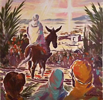 Holy Trinity Palm Sunday Worship