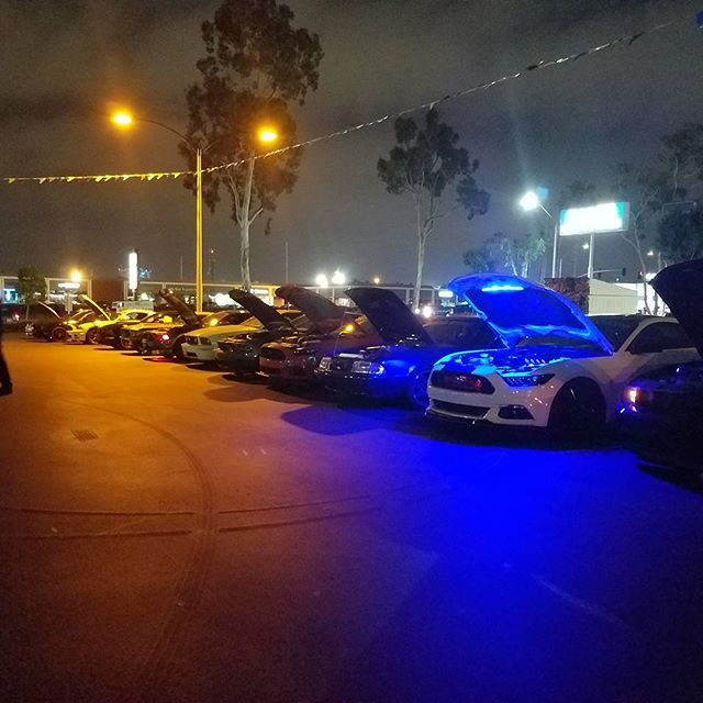 Mustang Meet Up was a success
