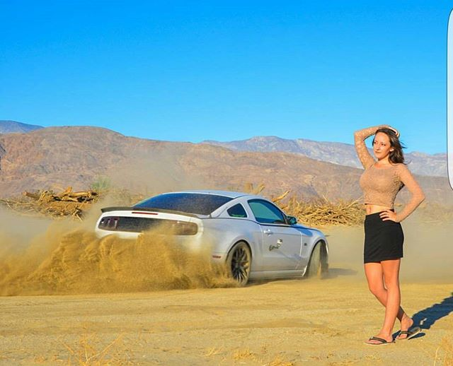 A little fun in the desert yesterday... Model_ _5ohchick_Photo _ _kaycinema _Car _ _j
