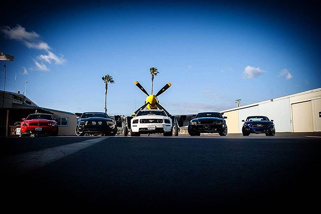 Throwback Thursday to the crew at Chuckhall Aviation, Ramona CA__#tbt_______________________________