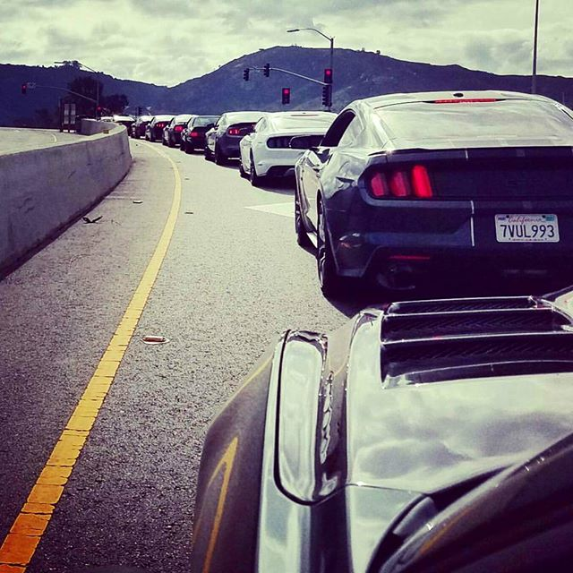 Just another throwback to one of the cruises we went on through the mountains with #mustang6g