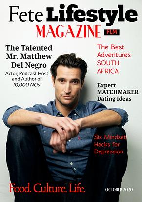 Matthew Del Negro Fete Lifestyle Magazine