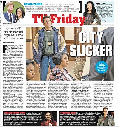 New York Post, Matthew Del Negro