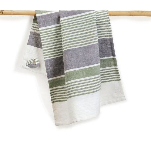 Cotton Kitchen Towel. Handwoven. Fairtrade
