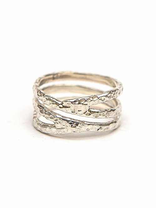 Esperanza Sterling Ring. fair trade. handmade in Peru