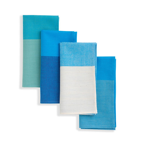 Cloth Napkin (set of 4). Soft Cotton. Finely handwoven. Fair Trade