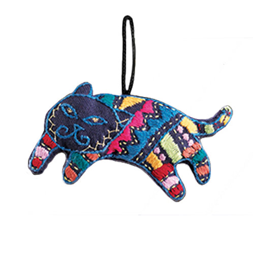Here Kitty Mini Ornament. Made in India. Fair Trade