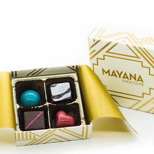 Mayana Chocolates -4 Piece Signature Box