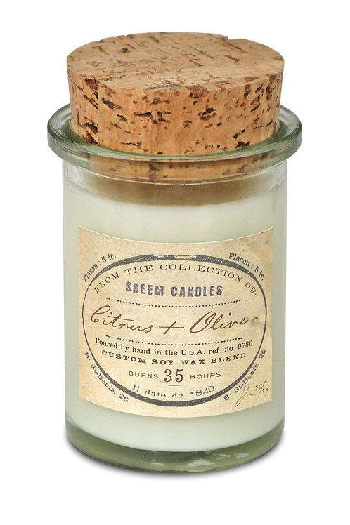 Citrus & Olive Field Jar Candle