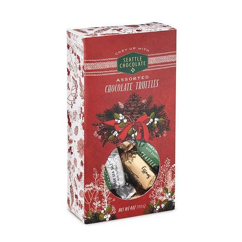 Woodland Joy Window Box of Assorted Chocolate Truffles