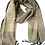 Thumbnail: Tuyen Patterned Scarf - Grey. fair trade. handmade in Vietnam