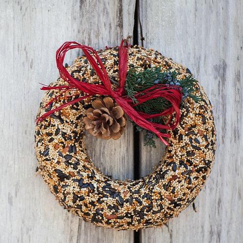 Wild Feast Birdseed Wreath