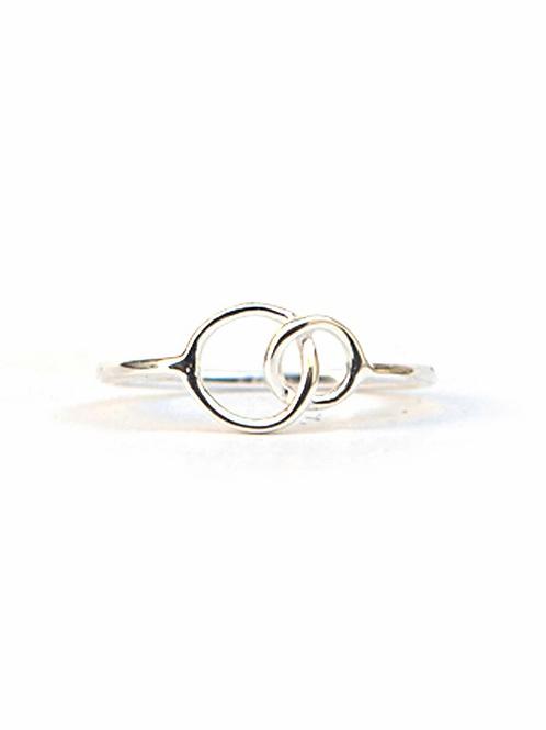 Double Halo Ring. fair trade