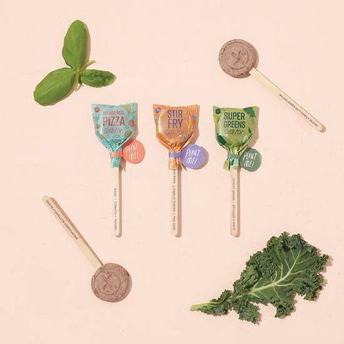 Culinary Seed Pops