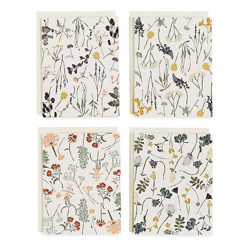Wildflowers by Region Cards, Box of 8