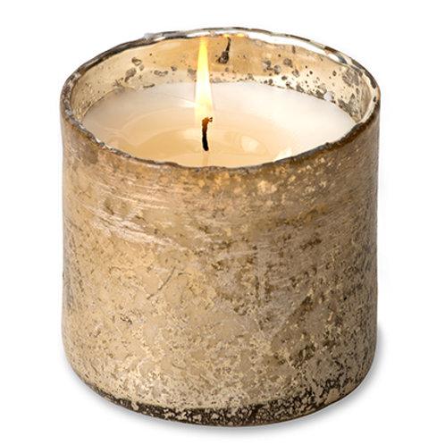 Artisan Blown Glass Soy Candle Tumbler - Desert Springs-Desert Springs