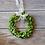 "Thumbnail: 8"" Preserved Boxwood Wreath - Set of 3"