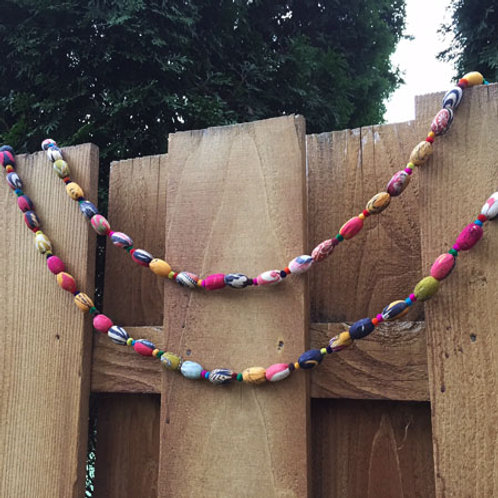 Recycled Kantha Oval Garland