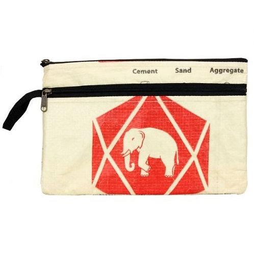Diamond Elephant Double Zip Case