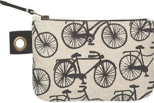 Bicicletta Small Zipper Pouch