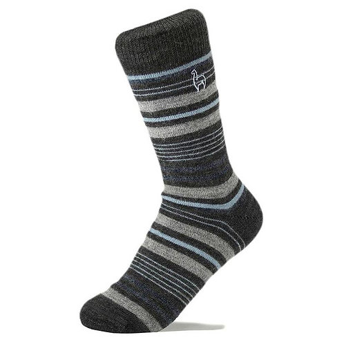 Alpaca Socks - Stripe -M,& L