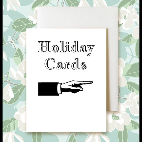 Blank Holiday Greeting Cards  $4.50-