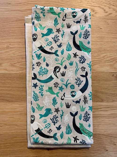 Sea Spell Dish Towel Set of 2