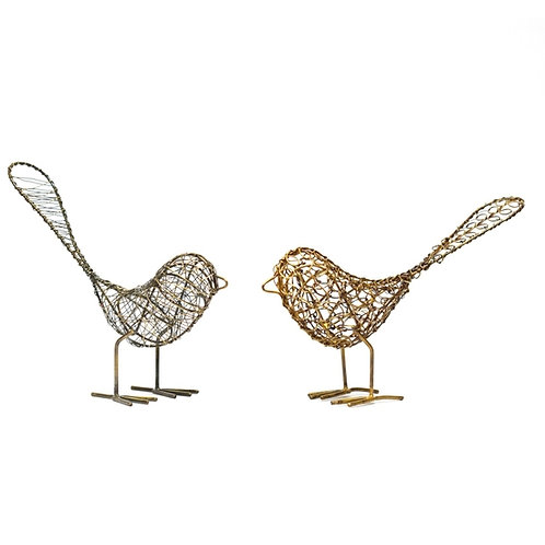 Wire Wrapped Birds