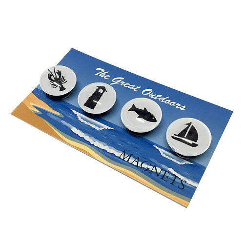 Great Outdoors- Beach Life Magnets -set of 4