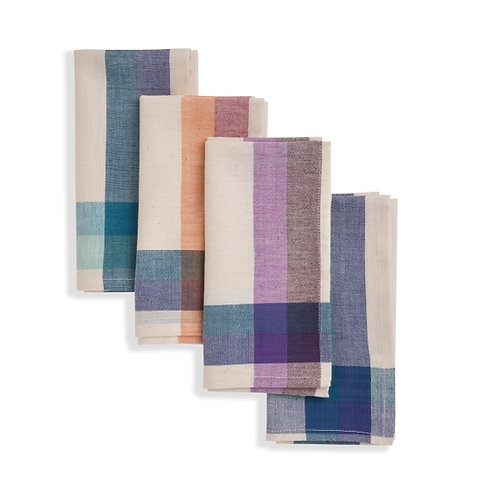 CLOVE Cloth Napkin (set of 4). Soft Cotton. Finely handwoven