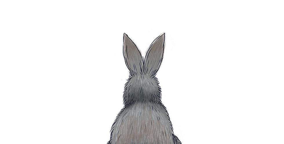 Bunny A3 print