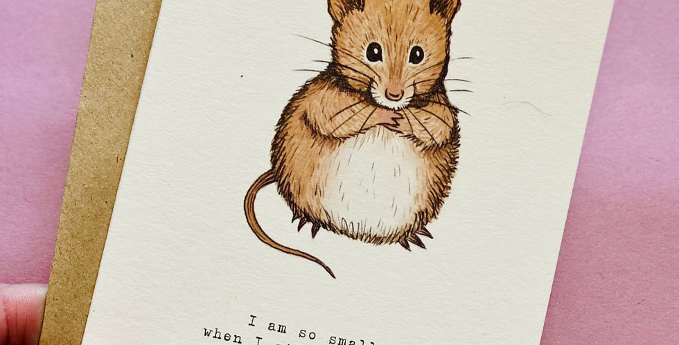 Happy Mouse - pack of cards