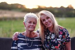 Zoe & Mum photo