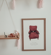 Mouse picture wall art