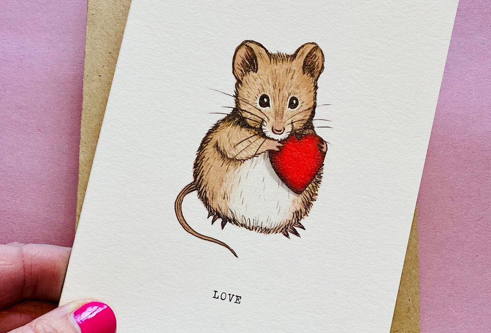 Love Mouse - pack of cards