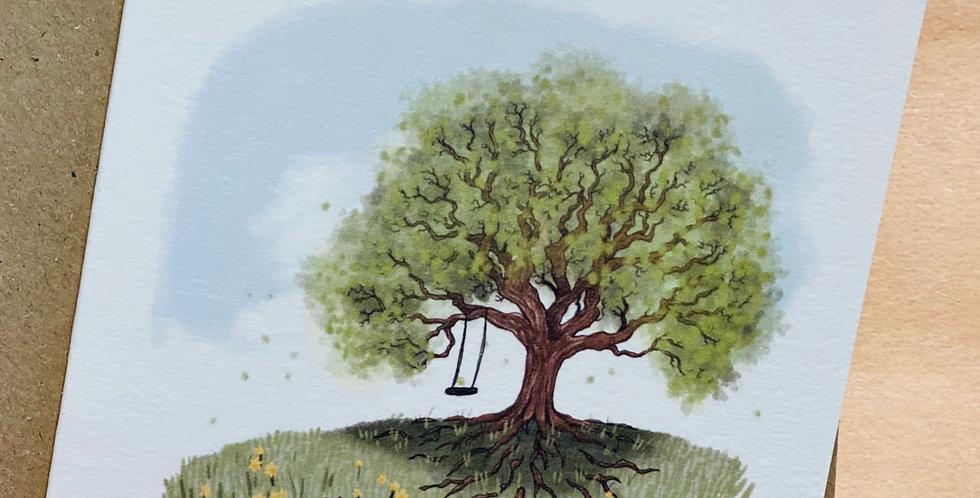 Nettlefold Oak Tree - The Seasons pack of cards