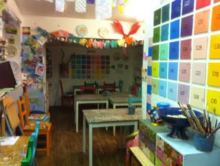 Here is my studio...