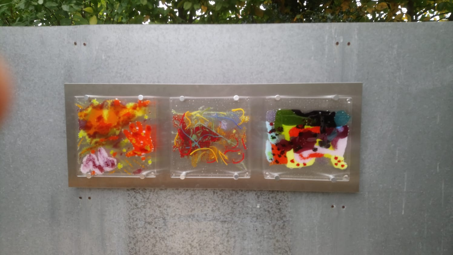 Children's Paintings in Fused Glass